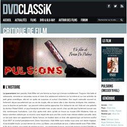 Pulsions de Brian De Palma (1980) - Analyse et critique du film