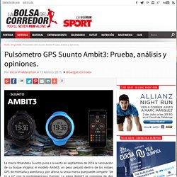 Pulsómetro GPS Suunto Ambit3: Prueba, análisis y opiniones. - La Bolsa del Corredor