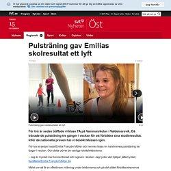 Pulsträning gav Emilias skolresultat ett lyft