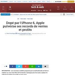 L'iPhone 6:Apple pulvérise ses records de ventes et profits