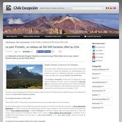 Le parc Pumalín, un cadeau de 300 000 hectares offert au Chili
