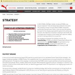 PUMA® – Strategy