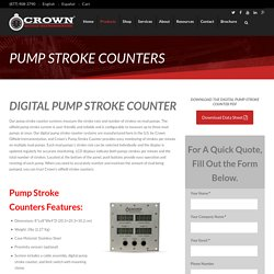 Digital Mud Pump Counters