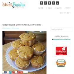 Pumpkin and White Chocolate Muffin Recipe