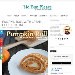 Pumpkin Roll with Cream Cheese Filling
