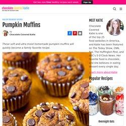 Pumpkin Muffins - Chocolate Covered Katie