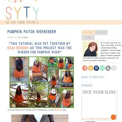 Pumpkin Patch Weekender