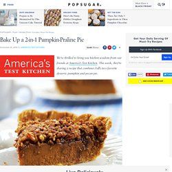 Pumpkin-Pecan Pie Recipe