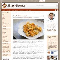 Pumpkin Ricotta Gnocchi Recipe