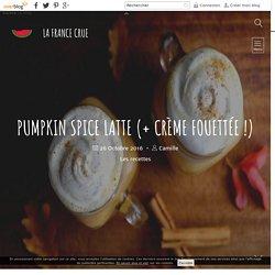 Pumpkin Spice Latte (+ crème fouettée !)