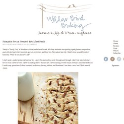 Pumpkin Pecan Streusel Breakfast Braid