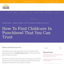Punchbowl Children's Centre
