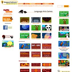 Language Arts Games - Grammar, Punctuation, Capitalization, Vocabulary