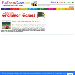 Punctuation Game for Kids - Fun Grammar Practice Exercise Activity