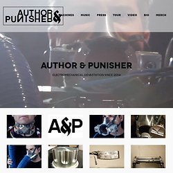 Author & Punisher (Official Page of works by Tristan Shone)