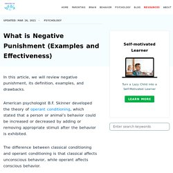 What is Negative Punishment (Examples and Effectiveness)