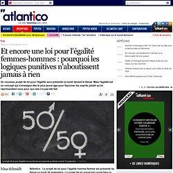Egalité hommes-femmes : pourquoi les logiques punitives n'aboutissent à rien
