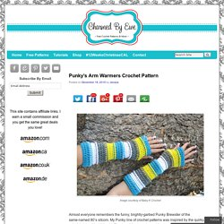 Punky's Arm Warmers Crochet Pattern