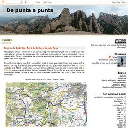 Roca de la Guàrdia i Turó de Bellver des de Tona