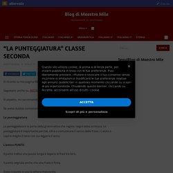 """""""LA PUNTEGGIATURA"""" CLASSE SECONDA"""