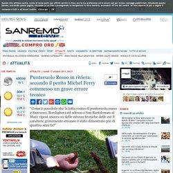 Punteruolo Rosso in riviera: secondo il perito Michel Ferry commesso un grave errore tecnico-Quotidiano online della provincia di Imperia