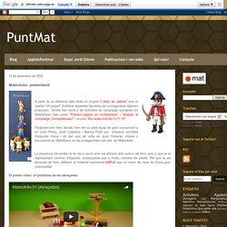 PuntMat: Mateclicks: presentació