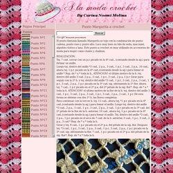Punto Margarita en tejido crochet