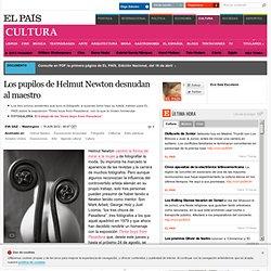 Los pupilos de Helmut Newton desnudan al maestro