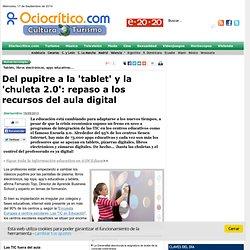 Del pupitre a la 'tablet' y la 'chuleta 2.0': repaso a los recursos del aula digital