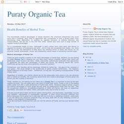 Healthy Life with Herbal Tea