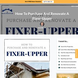 How To Purchase A Home That Needs To Be Renovated