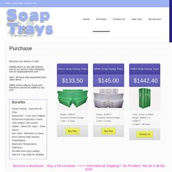 Purchase – Soap Trays