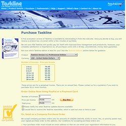 Purchase Taskline