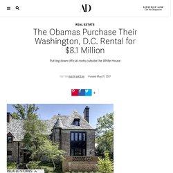 The Obamas Purchase Their Washington, D.C. Rental for $8.1 Million