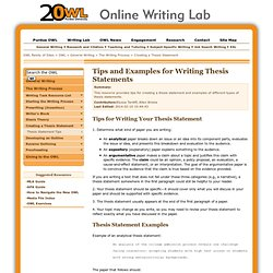 simple thesis statement maker 3234
