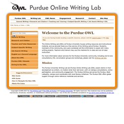 Online Writing Lab OWL