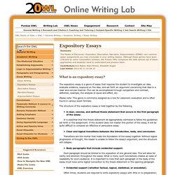 Academic writing purdue owl