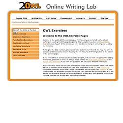 OWL Writing Exercises