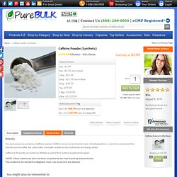 Cheap Pure Caffeine Powder Extract