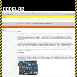 pure-data : Les capteurs pour les nuls (avec Arduino)