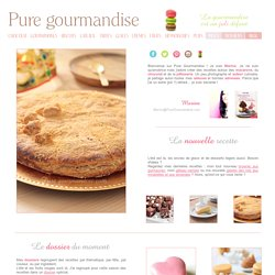 Pure gourmandise > Le menu