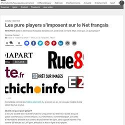 Les pure players s'imposent sur le Net français