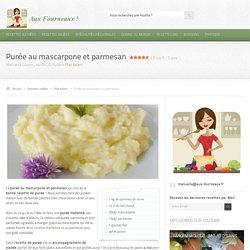 Purée au mascarpone et parmesan