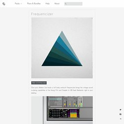 Puremagnetik - Free and Premium Ableton Live Packs, Kontakt Instruments and Sound Programming
