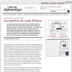 Les mystères du crash d'Ustica, par Andrea Purgatori (Le Monde diplomatique, juillet 2014)