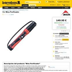Msr Miox Purificador - Filtros - Potabilizadores - Hidratacion - V-Acampada en Outlet de Barrabes.com