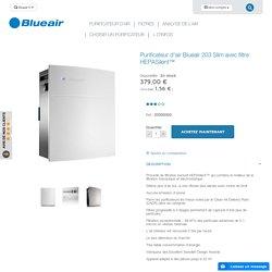Purificateur d'air Blueair 203 avec filtres HEPASilent™