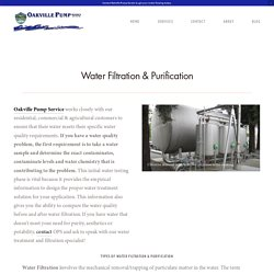 Water Purification Companies Yountville