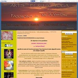 PURIFICATION INTERRIEURE du corps:Varisara - Arts, écrits, Yoga: passions de MCA-Vani Dévi.
