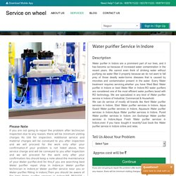 Find Water Purifier Service In Indore